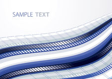 Blue techno background Royalty Free Stock Image