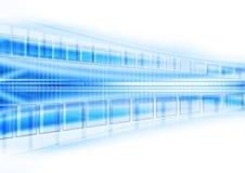 Blue techno background Stock Photos