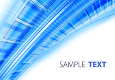 Blue techno background Stock Photo