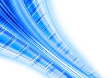 Blue techno background Stock Images