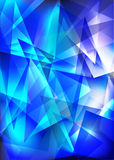 Blue techno shiny Royalty Free Stock Photos