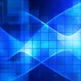 Blue technology stock illustration