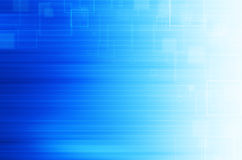 Blue technology abstract background. Blue modern technology abstract background Stock Photos
