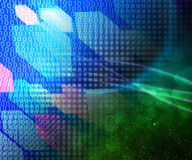 Blue Technology Abstraction Texture Royalty Free Stock Photos