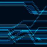 Blue technology background Stock Image