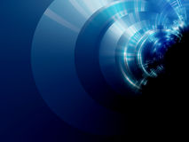 Blue technology background Stock Images