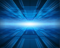 Blue technology background Royalty Free Stock Photos