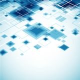 Blue technology background. Royalty Free Stock Images