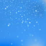 Blue Technology Background Royalty Free Stock Images
