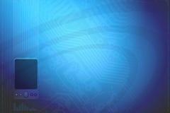 Blue Technology BG Stock Image