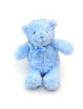 Blue teddy bear Stock Images