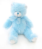 Blue Teddy Bear Stock Photography