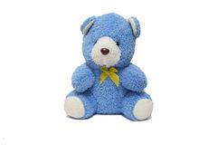 Blue Teddy Royalty Free Stock Images