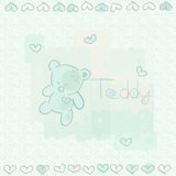 Blue teddy Stock Photos