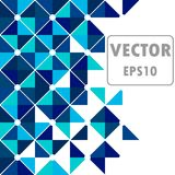 Blue template background royalty free illustration