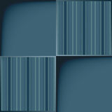 Blue template with line pattern. Royalty Free Stock Photography