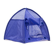 Blue tent Royalty Free Stock Photos