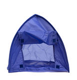 Blue tent Royalty Free Stock Images