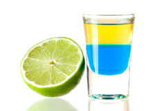 Blue Tequila Royalty Free Stock Image