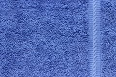 Blue Terry Cloth Royalty Free Stock Images
