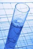 Blue Test Tube Stock Image