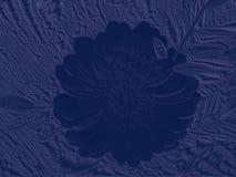 Blue texile flower Stock Photos