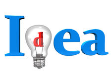 Idea Bulb Royalty Free Stock Image