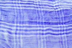 Blue textile Royalty Free Stock Photo