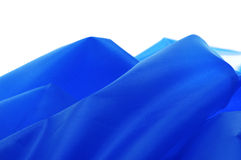 Blue textile Stock Photo