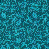 Blue textile background Royalty Free Stock Photos