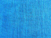 Blue textile background Stock Image