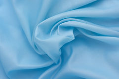 Blue Textile Background Royalty Free Stock Image