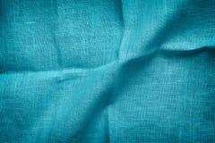 Blue textile background Royalty Free Stock Photo