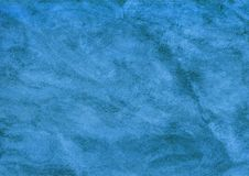 Blue textile marble background. royalty free stock image