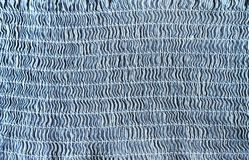 Blue textile texture with light line pattern stock photos