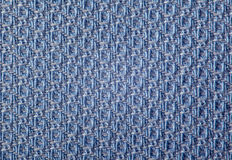 Blue textile texture Royalty Free Stock Images