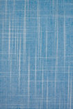 Blue textile textured background.  Royalty Free Stock Images