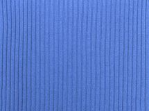Blue textile textured background Stock Photography