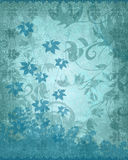 Blue texture background. Blue textured floral background pattern Royalty Free Stock Image