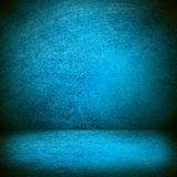 Blue texture or blank stage space Royalty Free Stock Image