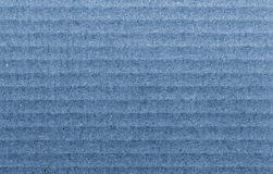 Blue texture of cardboard Royalty Free Stock Images