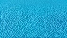 Blue Texture / Close up  blue fabric surface Stock Images