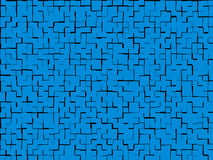 Blue texture offset Royalty Free Stock Photography