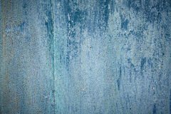 Blue texture of old colered wood with patina 2 Royalty Free Stock Images