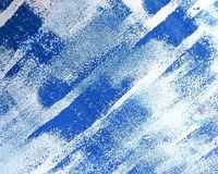 Blue texture. Blue watercolor background Royalty Free Stock Photo