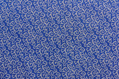 Blue texture and white pattern Royalty Free Stock Photo