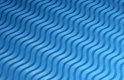 Blue Textured Background. Photo of a Blue Textured Surface - Wave Pattern Stock Image