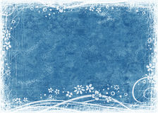 Blue textured background Stock Images