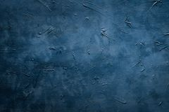 Blue textured background distressed chalkboard. Abstract blue textured background. distressed scratched chalkboard surface. copyspace concept royalty free stock photography
