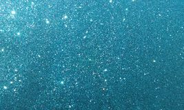 Blue textured background with glitter effect background. stock photo